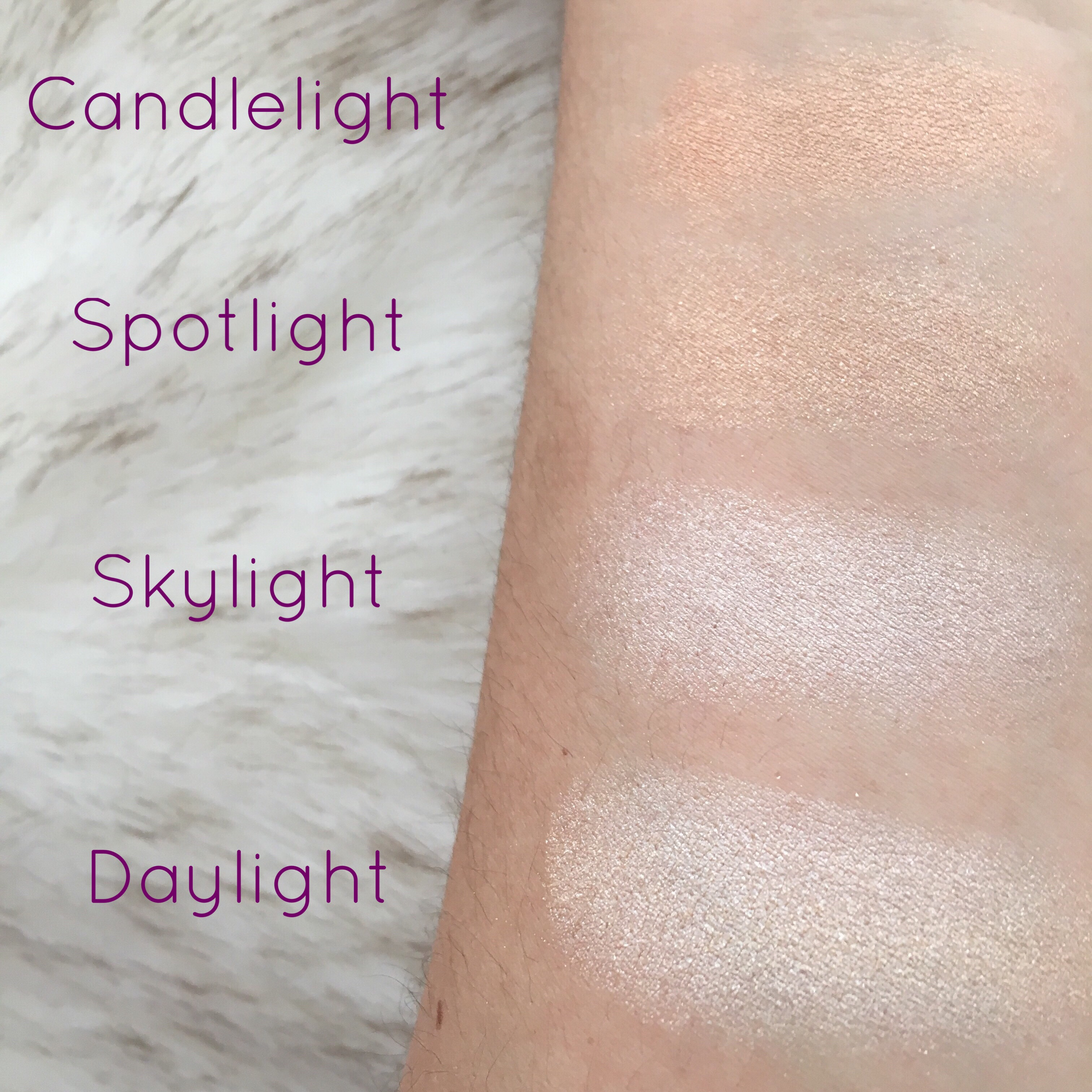 Tarte stunner vs tarte stunner dupe comparison - The First Shade Is Daylight Which Is Described As A White Gold I Love This Color Because It Is So Bright And Has A Gorgeous Golden Shimmer Throughout